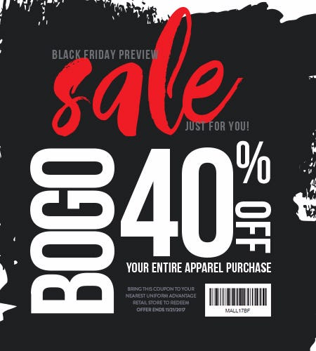 Black Friday Preview Coupon!