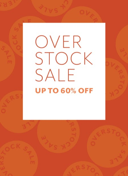 Over Stock Sale Up to 60% Off from Sur La Table