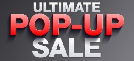 Ultimate Pop-Up Sale from macy's