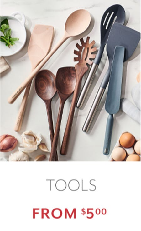 Tools from $5.00 from Sur La Table