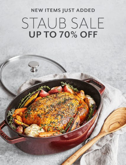 Up to 70% Off Staub Sale
