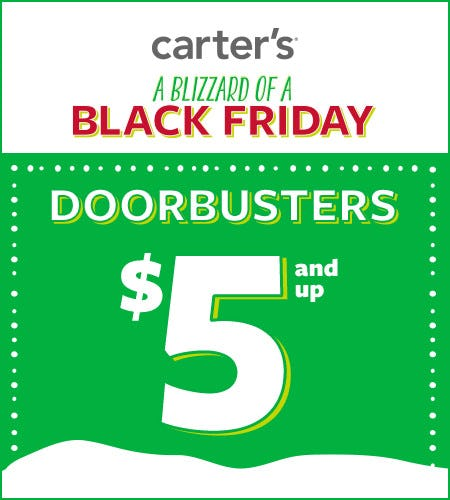 A Blizzard of a Black Friday Doorbusters $5 and Up