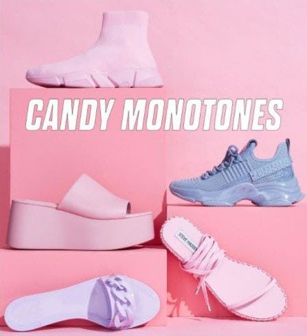 Candy Monotones from Steve Madden