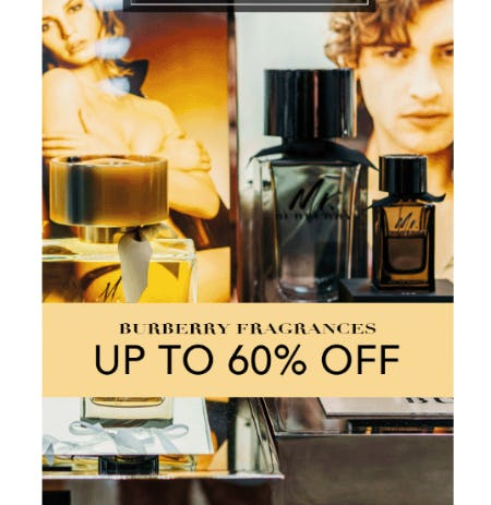 Burberry Fragrances: Up to 60% Off from Perfumania