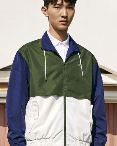 New Jackets for Spring from Lacoste