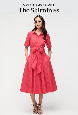 Outfit Equations The Shirtdress from J.Crew