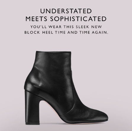 Understated Meets Sophisticated from STUART WEITZMAN