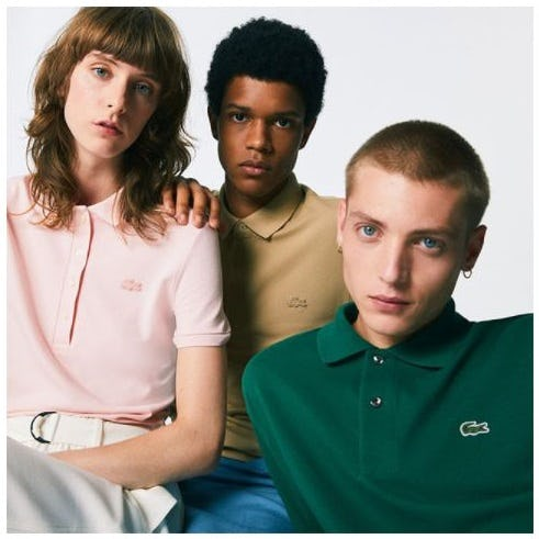 The Lacoste Icons from Lacoste