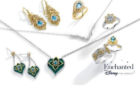 Jewelry Inspired by Disney's Aladdin from Fred Meyer Jewelers