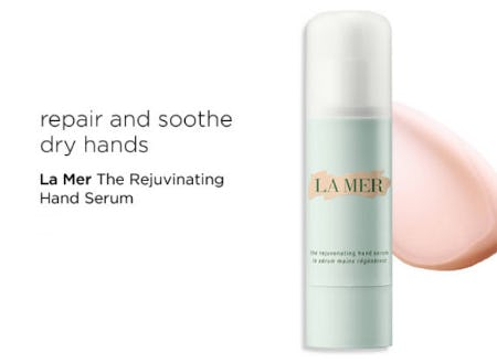 La Mer The Rejuvenating Hand Serum from Blue Mercury