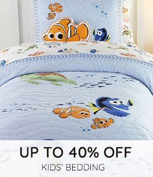 Up to 40% Off on Kids' Bedding from Pottery Barn Kids