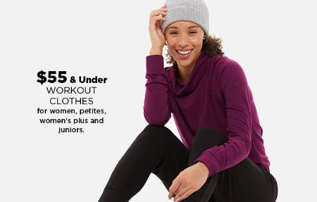$55 & Under Workout Clothes from Kohl's