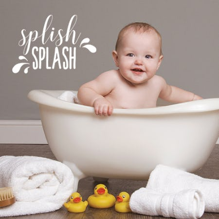 Babies & Bubbles from JCPenney Portraits