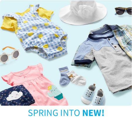 Spring Into New from Carter's