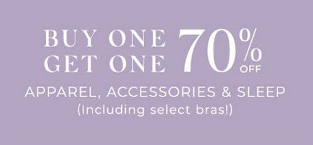 Buy One, Get One 70% Off Apparel, Accessories and Sleep from Lane Bryant