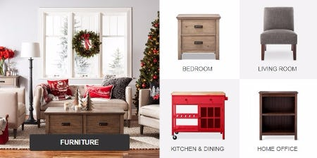 Save up to 30% on Furniture