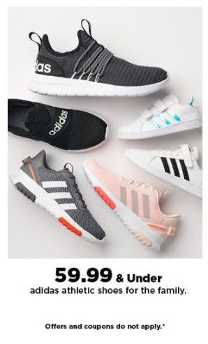 $59.99 & Under adidas Athletic Shoes for the Family from Kohl's