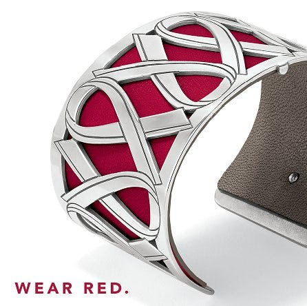 Wear Red Christo Cuff from Brighton Collectibles