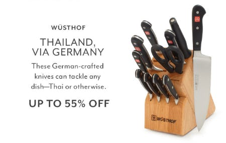 Up to 55% Off Wüsthof from Sur La Table