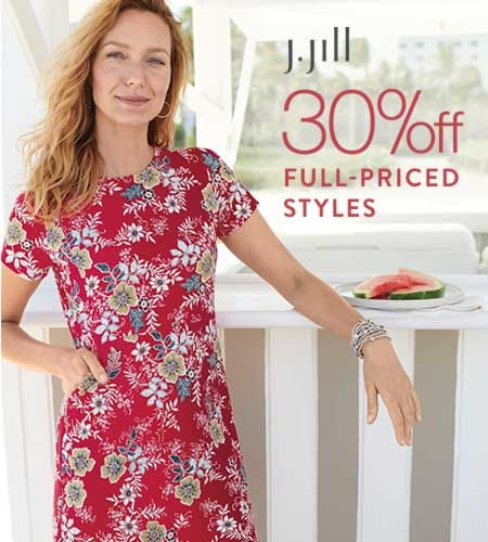 30% off Full-Priced Styles from J.Jill