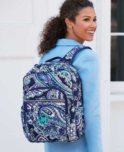 Meet New Deep Night Paisley from Vera Bradley