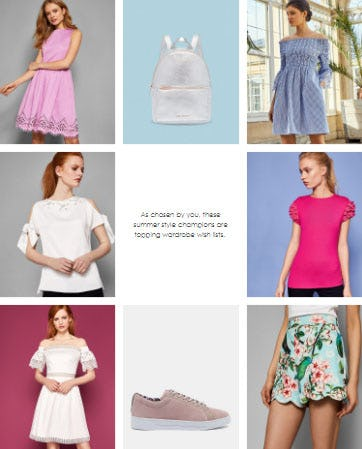 Ted's Most-Wanted Sale Styles from Ted Baker London