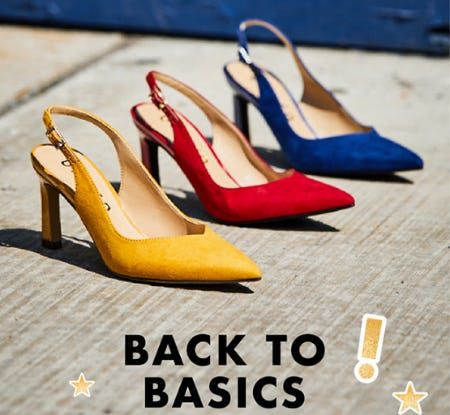 Back to Basics from DSW Shoes
