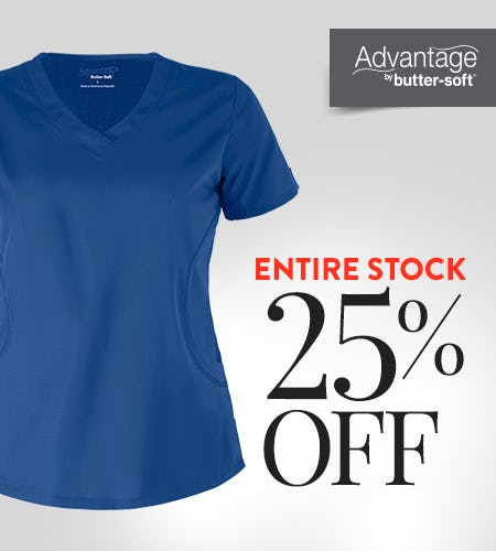 25% Off Advantage by Butter-Soft