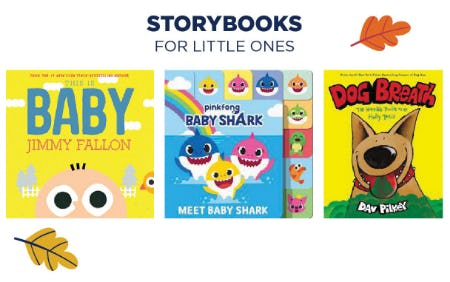 Storybooks for Little Ones from Books-A-Million