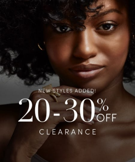 20-30% Off Clearance