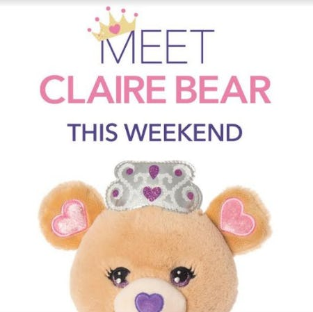 In-store Events Effective this Friday-Sunday from Claire's