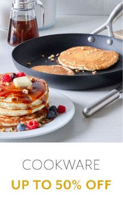 Cookware Up to 50% Off