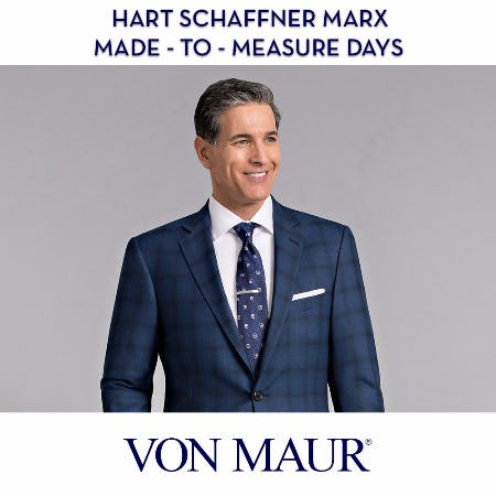 Hart Schaffner Marx Made-To-Measure Days