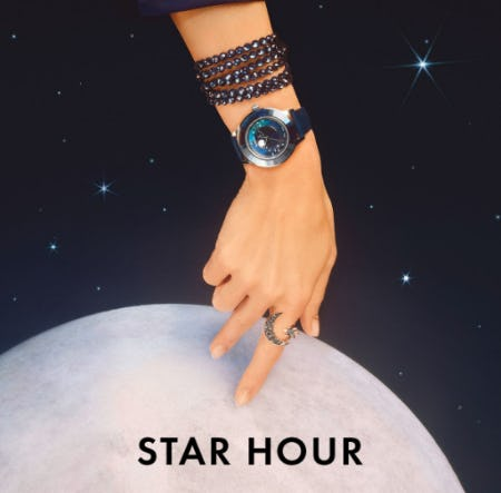 Our Galactic Timepieces from Swarovski