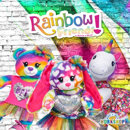 Rock the Rainbow at Build-A-Bear Workshop!® from Build-A-Bear Workshop