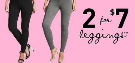 2 for $7 Leggings