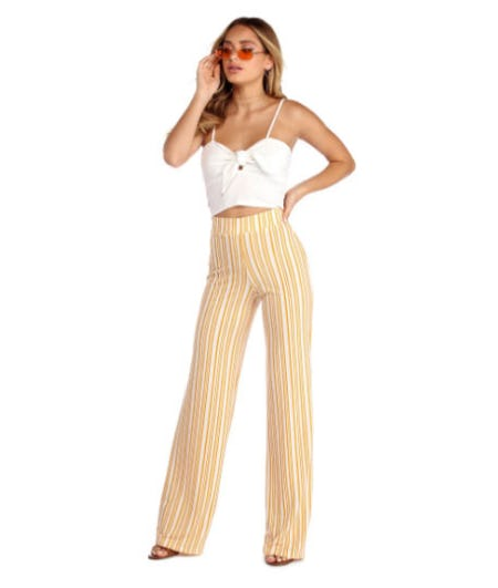 Sunny Side Up Wide Leg Pants from Windsor