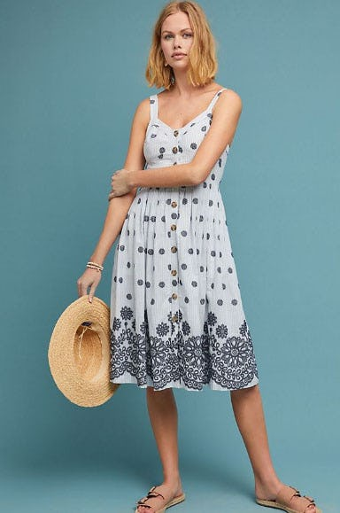 Savoy Buttondown Dress from Anthropologie