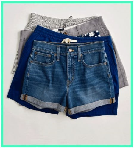New-Arrival Shorts from J.Crew Mercantile