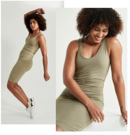At Ease in Dresses and Rompers from Athleta