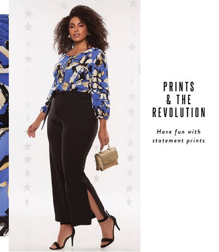 Prints & The Revolution from Ashley Stewart