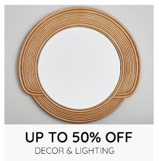 Up to 50% Off Decor & Lighting from Pottery Barn Kids