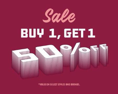 Sale Buy 1, Get 1 50% Off