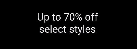 Up to 70% Off Select Styles from ALDO