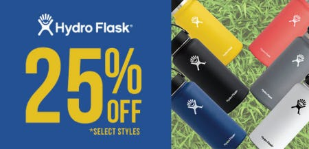 25% Off Hydro Flask from Tillys
