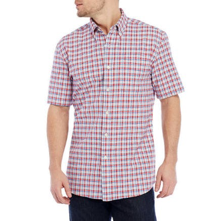 Saddlebred Short Sleeve Oxford Shirt