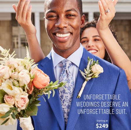 Suits Starting at $249 from Jos. A. Bank
