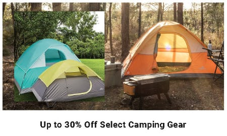 Up to 30% Off Select Camping Gear from Dick's Sporting Goods