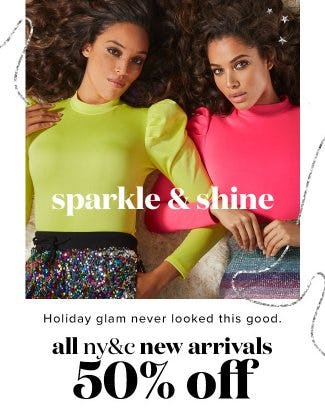 All NY&C New Arrivals 50% Off from New York & Company