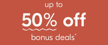 Up to 50% Off Bonus Deals from West Elm